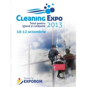 CLEANING EXPO 2013 - totul pentru igienă și curățenie