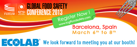 Ecolab Global Food Safety Conference 2013