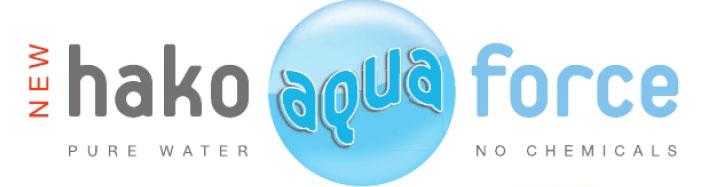 Sistemul HAKO AQUA-FORCE Curatenie fara chimicale cu apa demineralizata