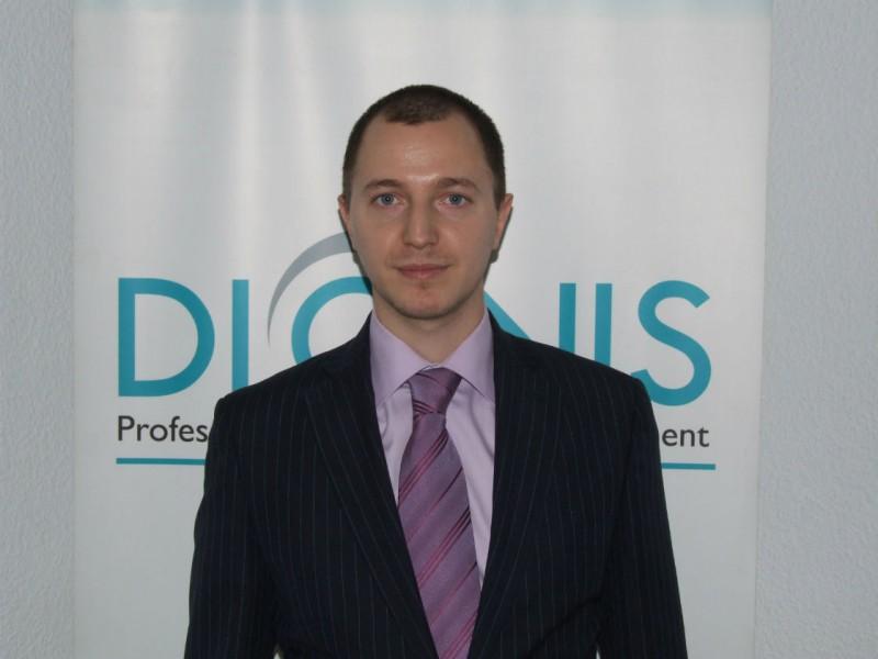 Daniel Tara, director de vanzari la Dionis Prestcom SRL
