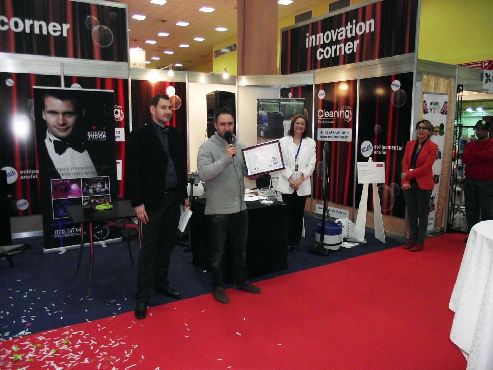 InfoCuratenie.ro la Cleaning Show