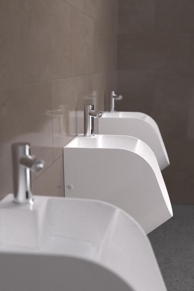 Pisoarul cu robinet, pentru o mai buna igiena a mainilor barbatilor