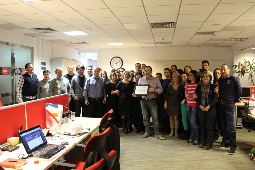 BSS Premiul anului in facility management